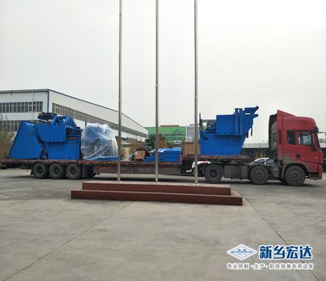 嘉峪關東興鋁業電解質清理五錘改造